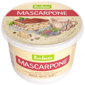 Сыр творожный Bonfesto Маскарпоне 78% 500 г