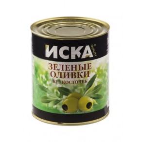 """Зеленые оливки без косточек """"ISKA"""""""