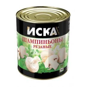 """Шампиньоны резаные """"ISKA"""""""