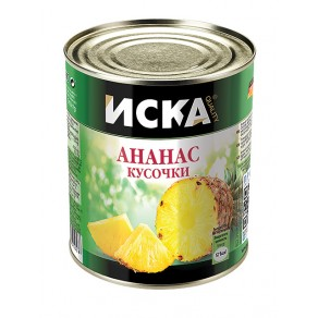 """Ананасы кусочки """"ISKA"""""""