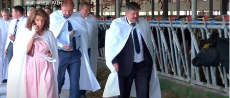 Семинар по животноводству при участии Туровского молочного комбината