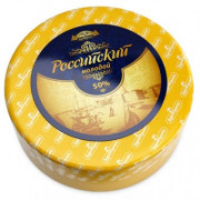 """Сыр """"Российский Молодой"""" Здравушка-Милк"""