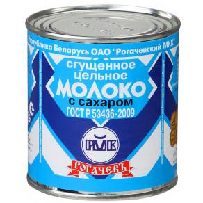 """Молоко сгущенное цельное """"Рогачев"""""""