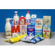 Молоко в ассортименте
