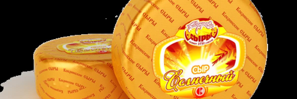 """Сыр """"Солнечный"""""""