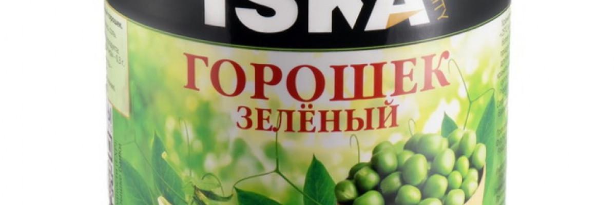 """Зеленый горошек """"ISKA"""""""