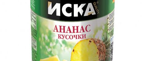 Консервированные ананасы Иска
