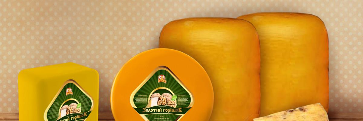 """Сыр """"Золотой орешек"""""""